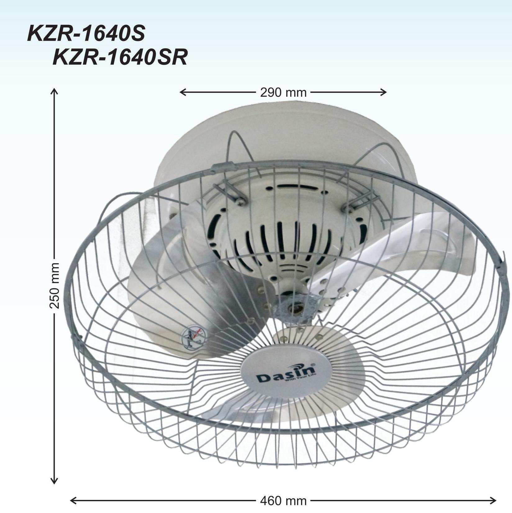 Quạt đảo trần KZR-1640S