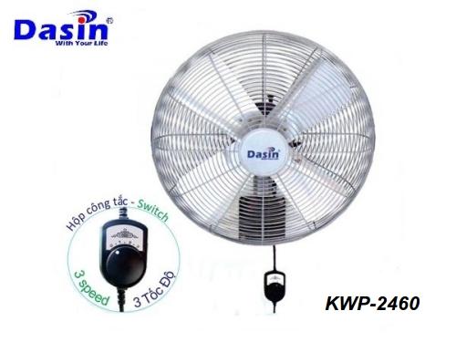 Quạt treo tường công nghiệp KWP-2460 Dasin