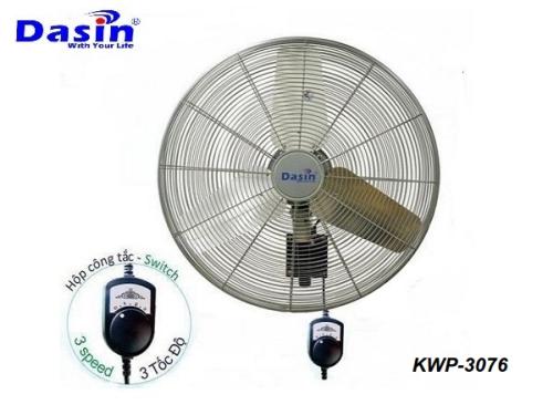 Quạt điện treo tường công nghiệp Dasin KWP-3076