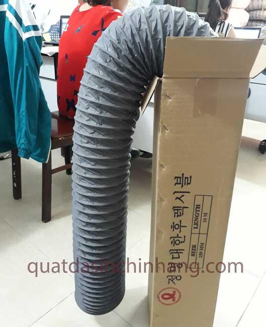 ống gió mềm vải 4
