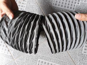 Lắp giáp kết hợp ống gió mềm vải