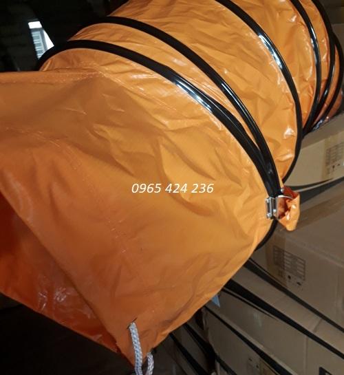 ống gió vải bạt simili
