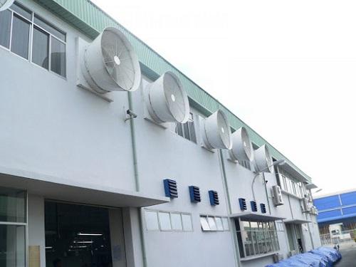 cách lắp đặt quạt thông gió công nghiệp