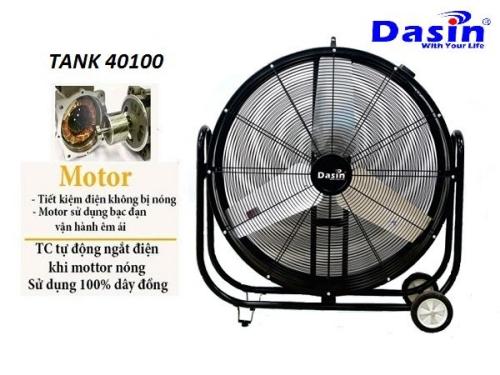 quạt công nghiệp Dasin Tank 40100
