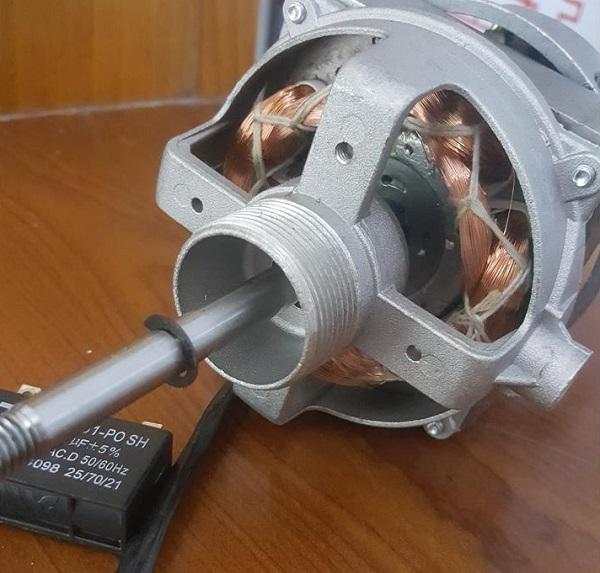 motor quạt bị nóng